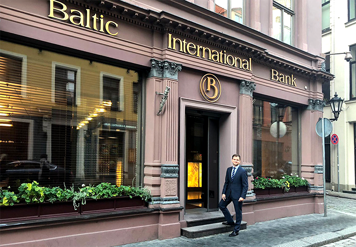 Viktors Bolbats Baltic International Bank