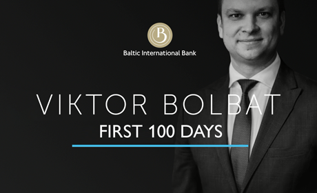 Viktor Bolbat – 100 days on the position