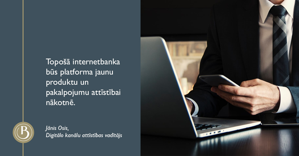 Baltic International Bank jauna internetbanka