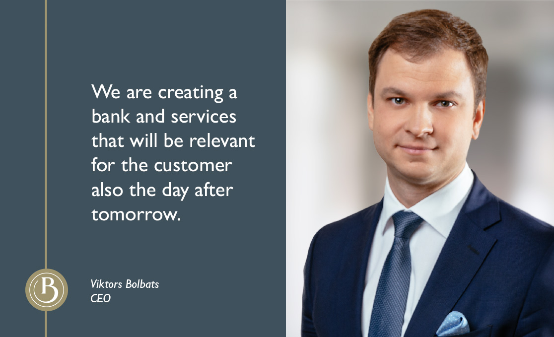 "Viktors Bolbats: ""Baltic International Bank on its way to become a strong investment bank"""