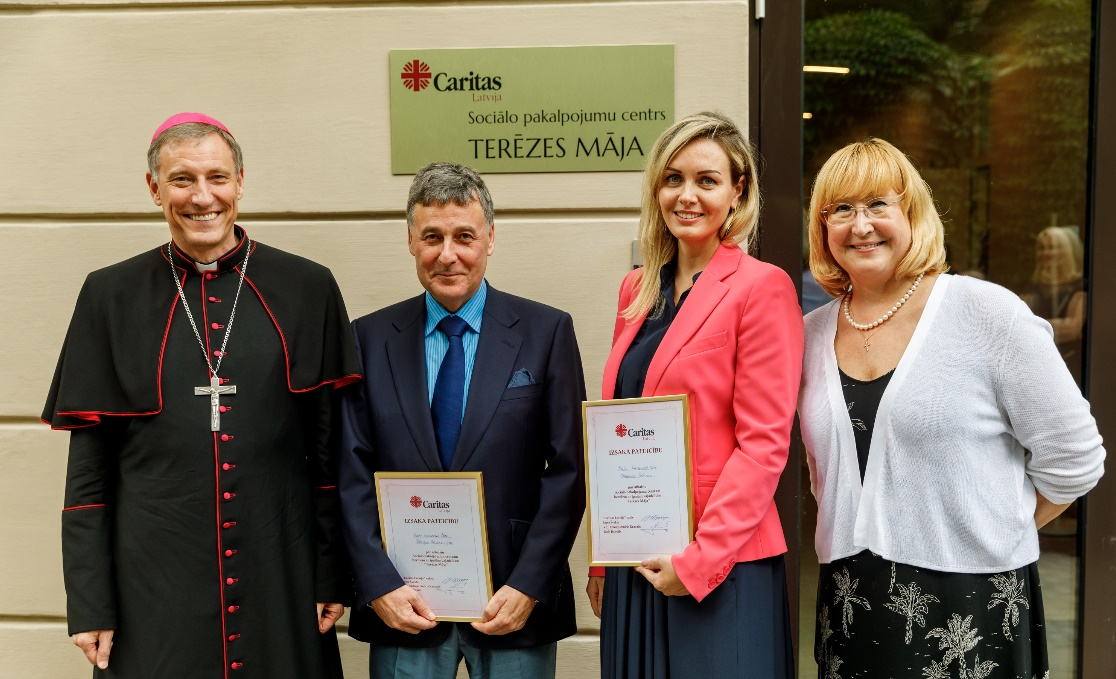Baltic International Bank Supports the Opening of Day Childcare Centre St. Theresa's Home