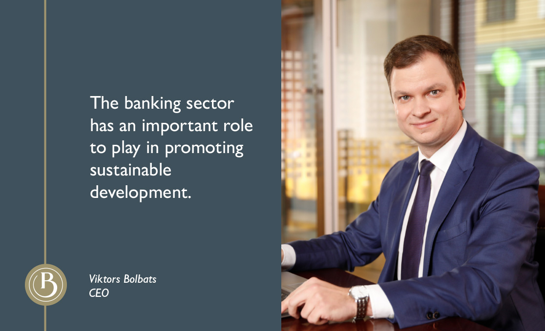 Baltic International Bank sets the Sustainable Development Goals in line with the United Nations Environment Programme Finance Initiative